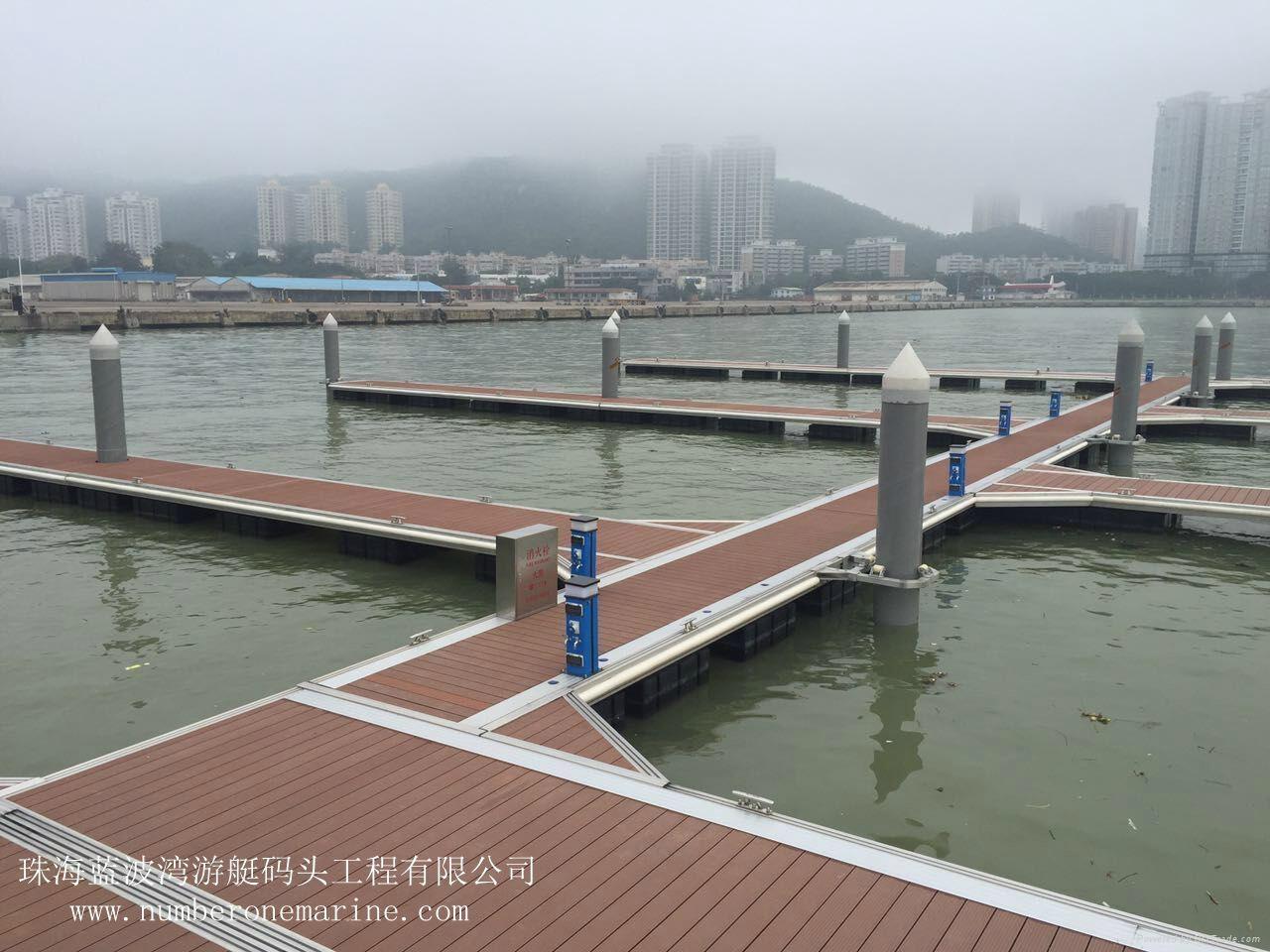 铝合金结构游艇码头 4