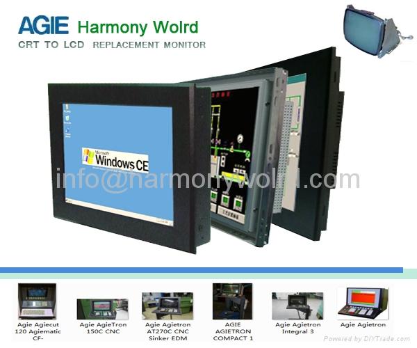"""12.1"""" TFT monitor For Agie Agiecut AGIEMATIC EDM AGIETRON Futura EVOLUTION   1"""