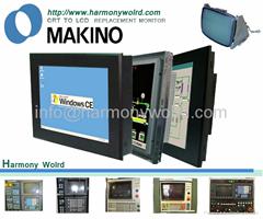 LCD Monitor For Makino EDM Machine EH3 EC32 EDNC-32 EDNC-43S/64/65/106/156W