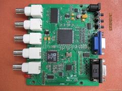 CGA EGA MDA RGB Video Composite to xVGA Converter