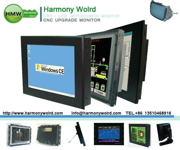 TFT Monitor for HYUNDAI CNC lathes & mill w/ Hitrol sinumerik Fanuc Control 1