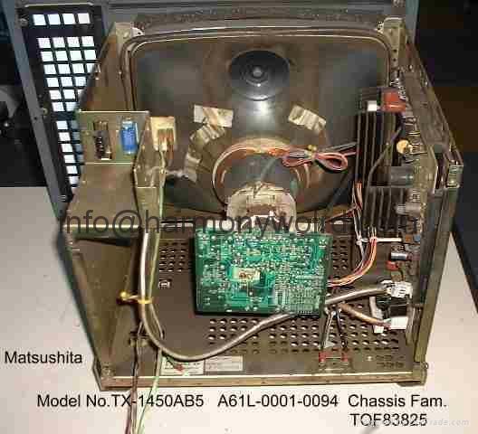 Replacement Monitor For MATSUSHITA CRT MONOCHROME & COLOR MONITOR  LCD upgrade 12