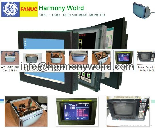 Fanuc Replacement Monitor For A61L-0001-0142/0090/0095/0096/0093/0094/0074 etc 3