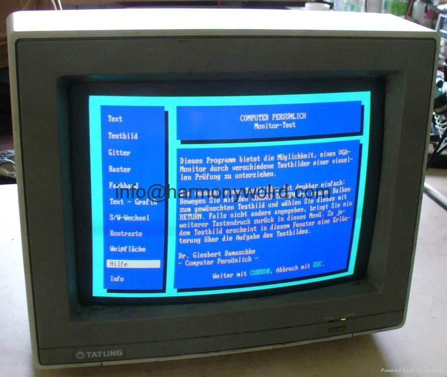 Tatung CD14JDS CD14JBS CD14 TBM-1403  C4DZE VT-14528 Replacement Monitor  11