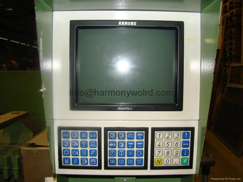 Industrial Upgrade monitor for Arburg Injection Machine Allrounder Dialogic 9