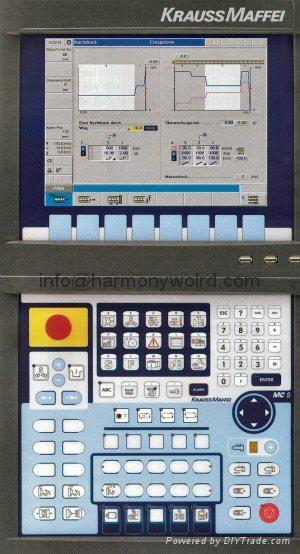 LCD DISPLAY & Parts For Krauss Maffei Injection Machines MC/MC2/MC3/3F/MC4/MC5 6