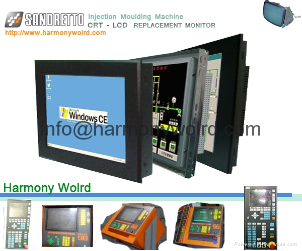 TFT Replacement Monitor For Sandretto CNC SERIE 7 Sef 90 Injection Machine 3