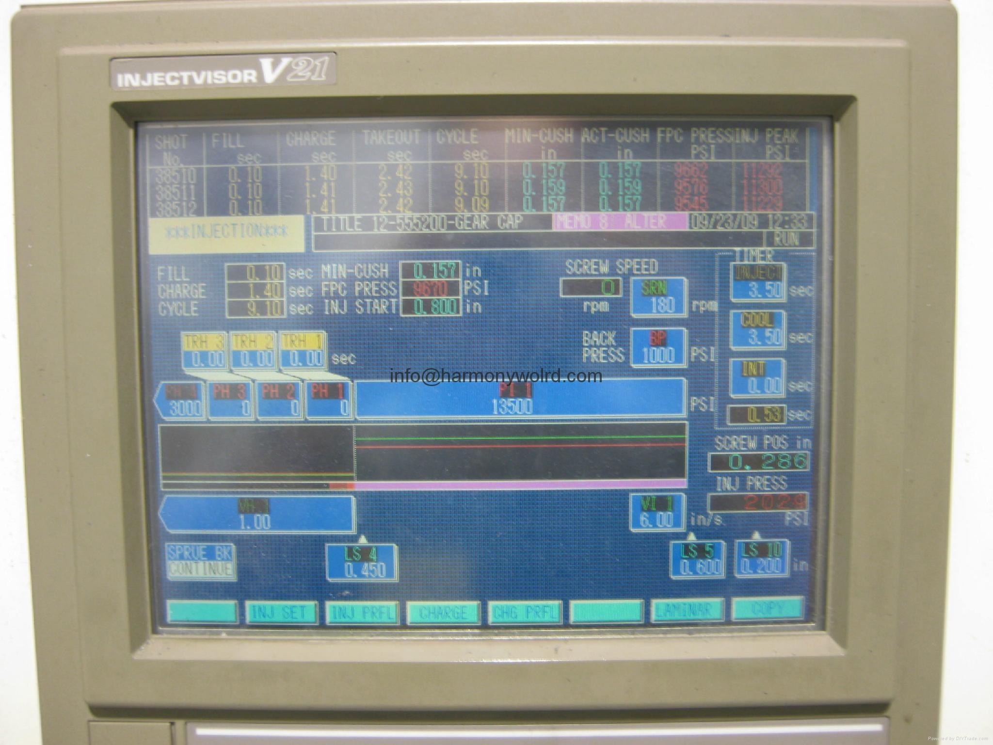 Monitor Display For Toshiba Injection Molding Machine injectvisor VL/V10/V21/V30 2