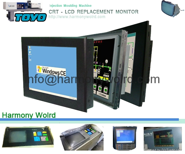 Replacement Monitor For Toyo Injection Machine Controller PLCS 6/9/10/11 2