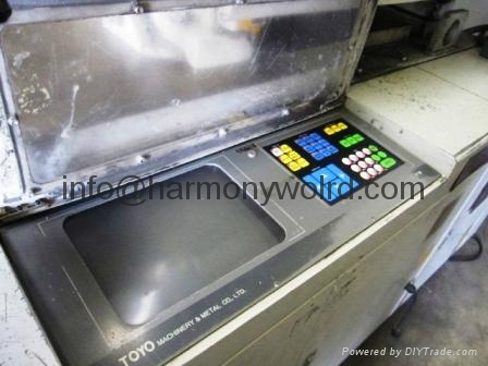 Replacement Monitor For Toyo Injection Machine Controller PLCS 6/9/10/11 11