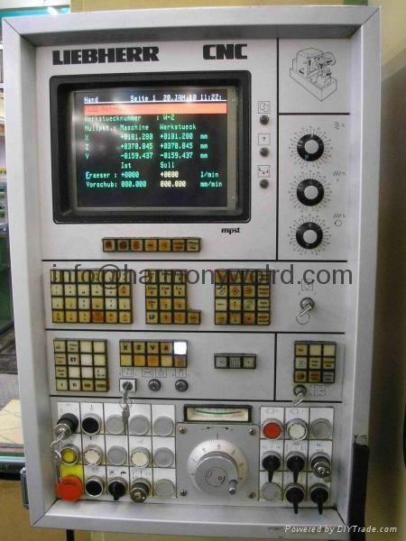 Monitor Display For Liebherr CNC Gear Machine Liebherr 41HC001 Liebherr  7