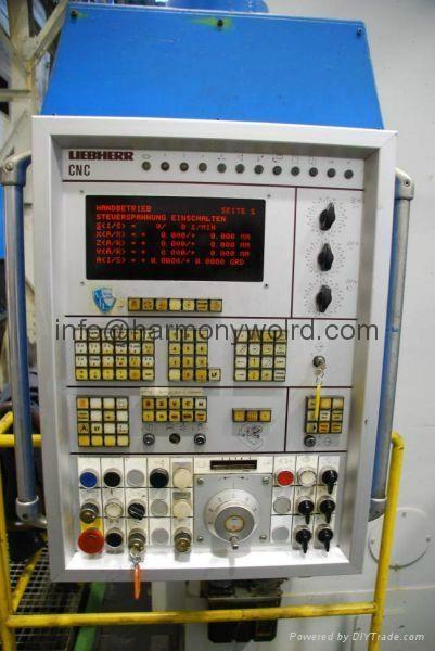 Monitor Display For Liebherr CNC Gear Machine Liebherr 41HC001 Liebherr  8