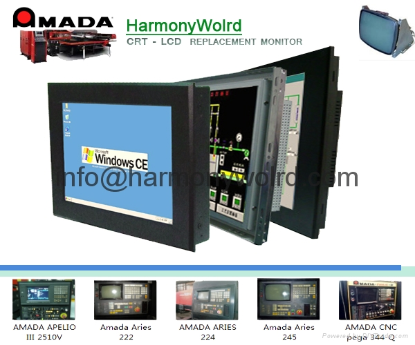 Replacement Monitor For Amada cnc Pressbrakes Operateur /Delem /NC-9F /Astro 14