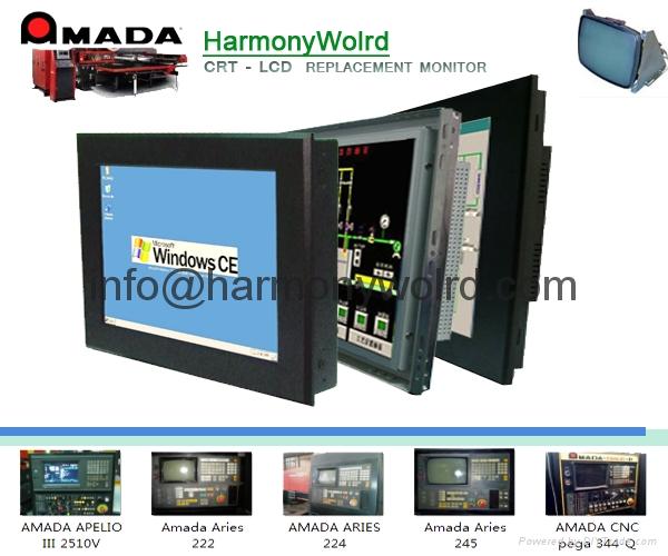 Replacement Monitor For Amada cnc Laser cutting machine AMNC-F/Lasmac/05PL-A CNC 2