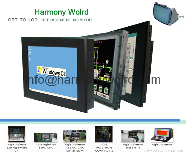 TFT Monitor For AgieTron Integral 2, 3, 4 AGIE AGIETRON INTEGRAL 2, 3 and 4 mach 15