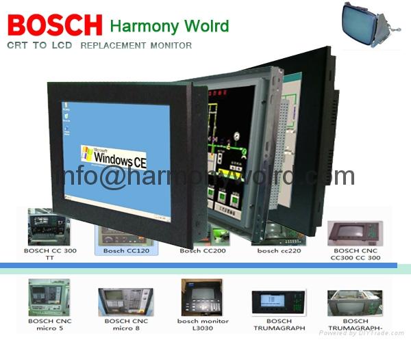 "12.1"" TFT Monitor Bosch CC200 /CC220 / CC300 / CC320 replace 12″ monochrome 1"