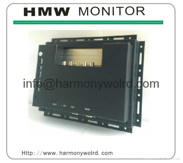 8.4″ monochrome (green) TFT LCD replacement For Cybelec CNC 3300 Monitor  5