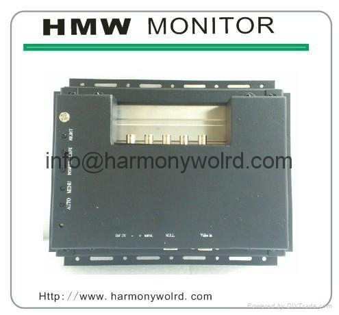 8.4″ monochrome (green) TFT LCD replacement  For Cybelec CNC 7300 Monitor 1