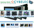 8.4″ monochrome (green) TFT LCD replacement  For Cybelec CNC 7300 Monitor 5