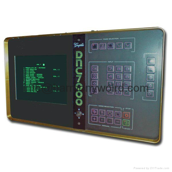 12.1″ monochrome (green) TFT LCD replacement for Cybelec DNC 7000 Monitor  10