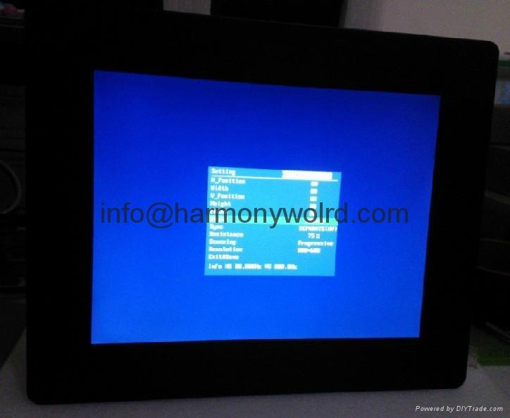 12.1″ colour TFT LCD industrial monitor For Eckelman CNC83-BAE Elckelman Optimat 4