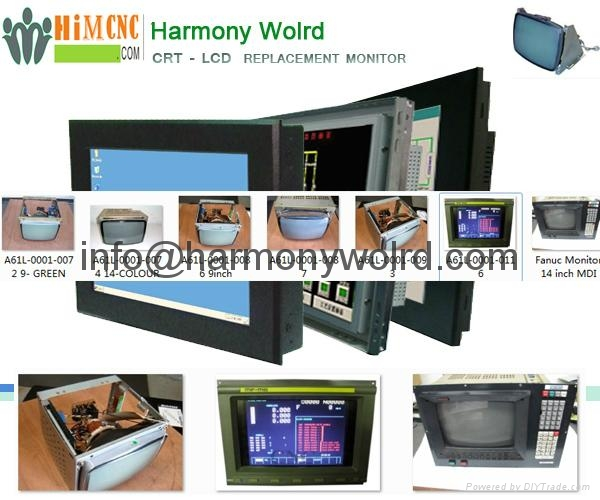 Replacement Monitor for Fanuc A02B-0074-C053 A02B-0074-C060 A02B-0074-C031   1