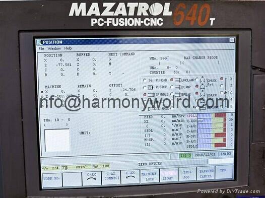 TFT LCD panel For Mazak Fusion Mazak Mazatrol 640T 8