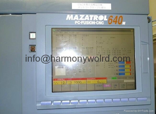 TFT LCD panel For Mazak Fusion Mazak Mazatrol 640T 1