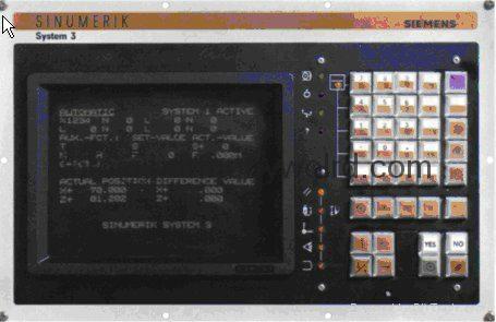 TFT Replacement Monitors for Sinumerik 840C/840M Sinumerik 840C/CE Sinumerik OP3 8