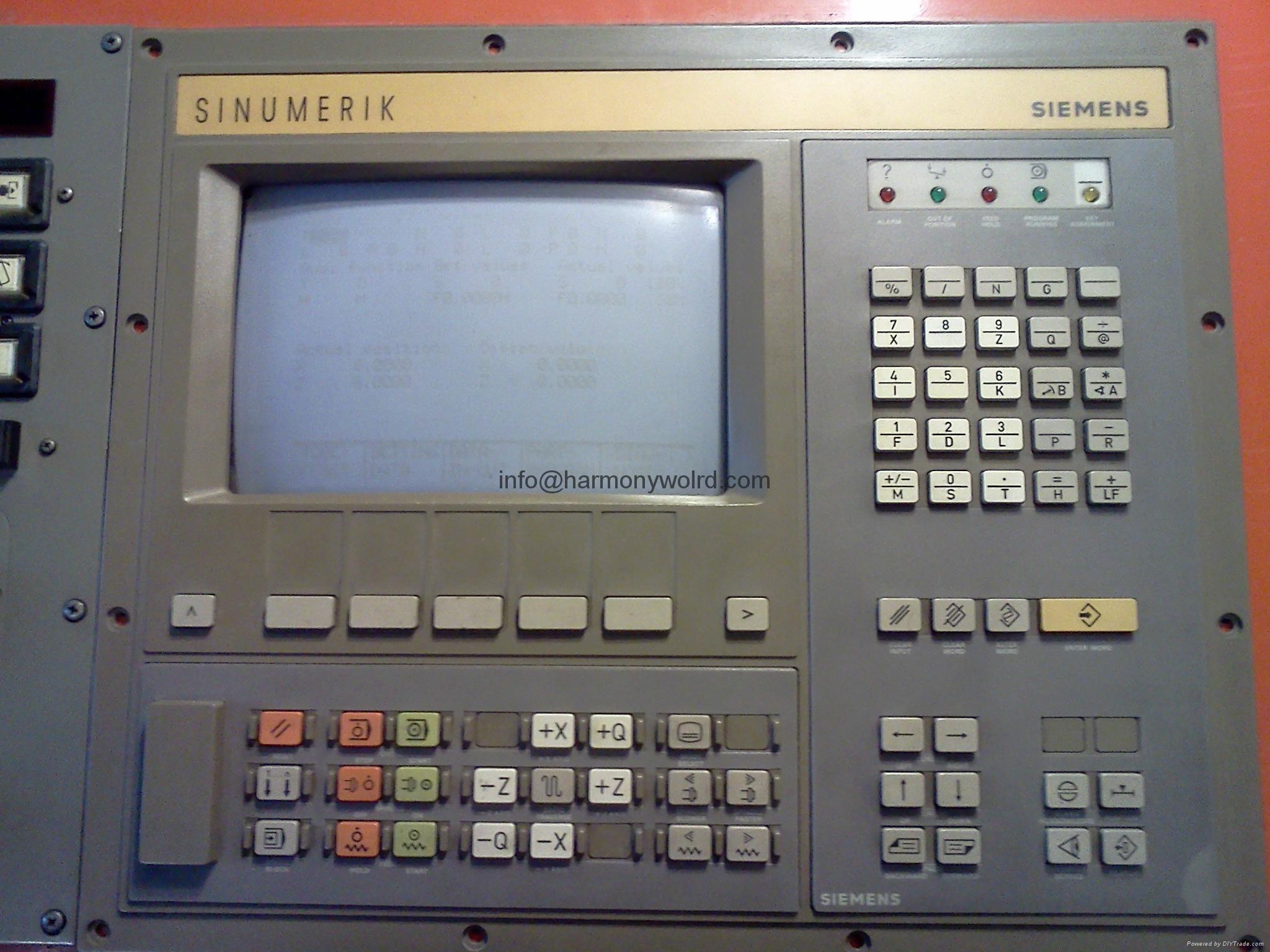 TFT Replacement Monitors for Sinumerik 840C/840M Sinumerik 840C/CE Sinumerik OP3 18