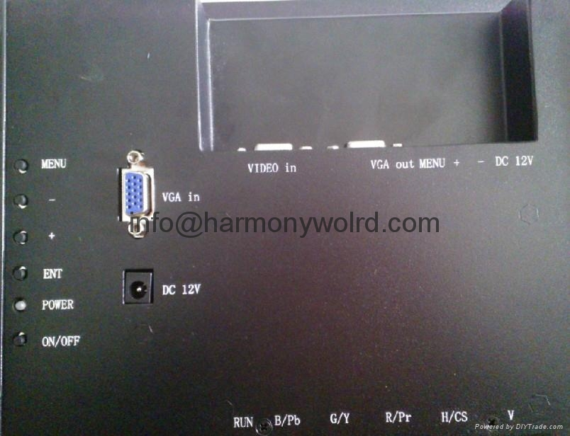 TFT Monitor for Dynamic Displays, Inc. QES2014-115 CRT Monitor  8