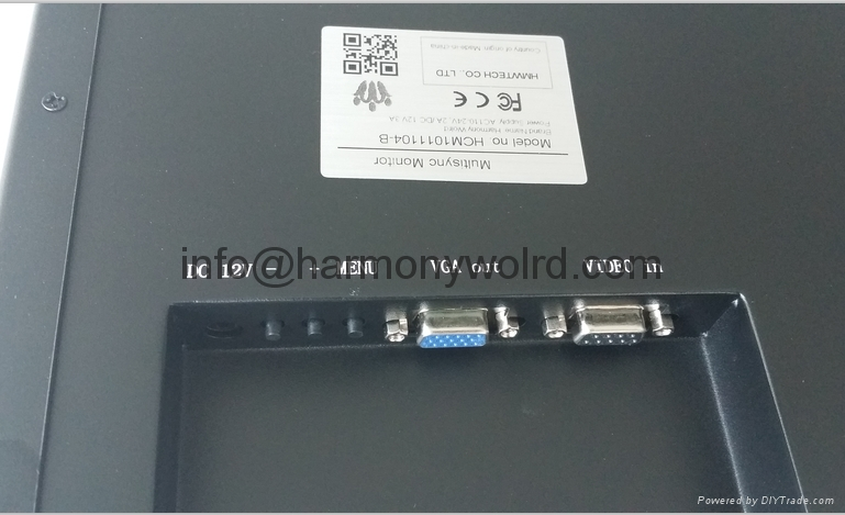 """TFT Monitor for Hurco Z-AXIS CRT Monitor V212AM014 12"""" monochrome  9"""