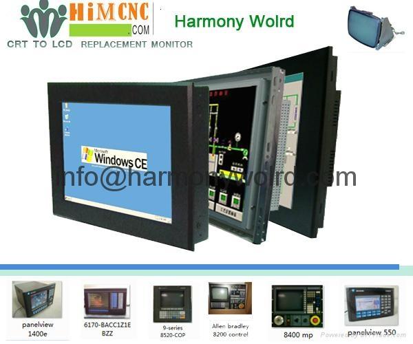LCD Upgrade Monitor retrofit For ALLEN BRADLEY CRT monitors 1