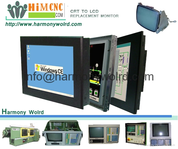 LCD Upgrade Monitor For arburg_520C/520m/570c/305-eco Injection Molding Machine 2