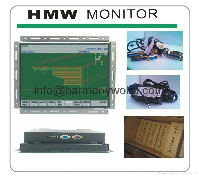 LCD Upgrade Monitor For Eaton IDT PanelMate CRT Module 91-00992-02  6