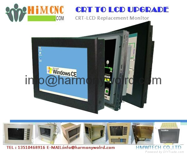 LCD Upgrade Monitor For Eaton IDT PanelMate CRT Module 91-00992-02  1