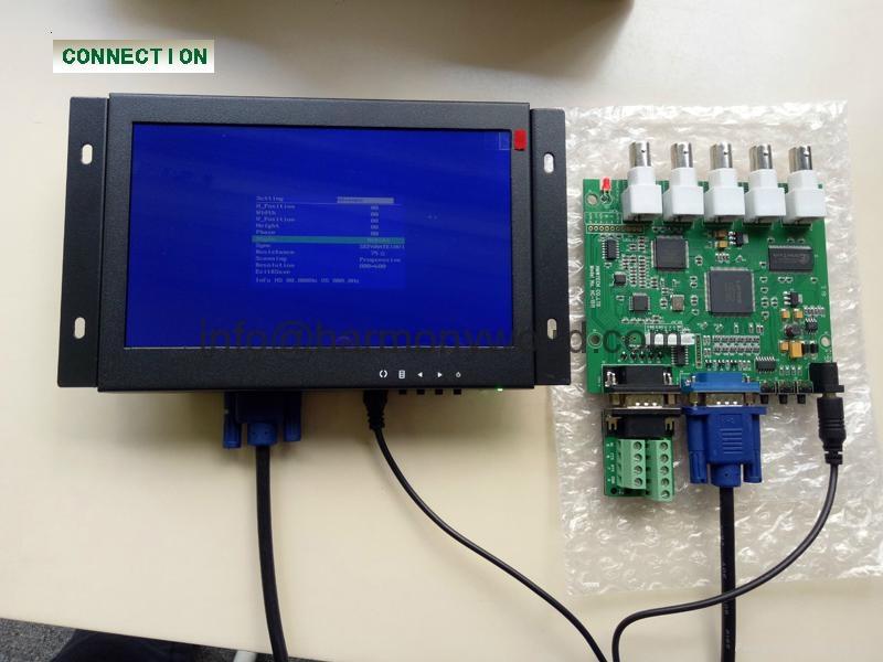 "Upgrade HANTAREX MT 3000 5"" / 9"" /12"" OPEN FRAME MONO MONITOR to NEW LCD Monitor 3"