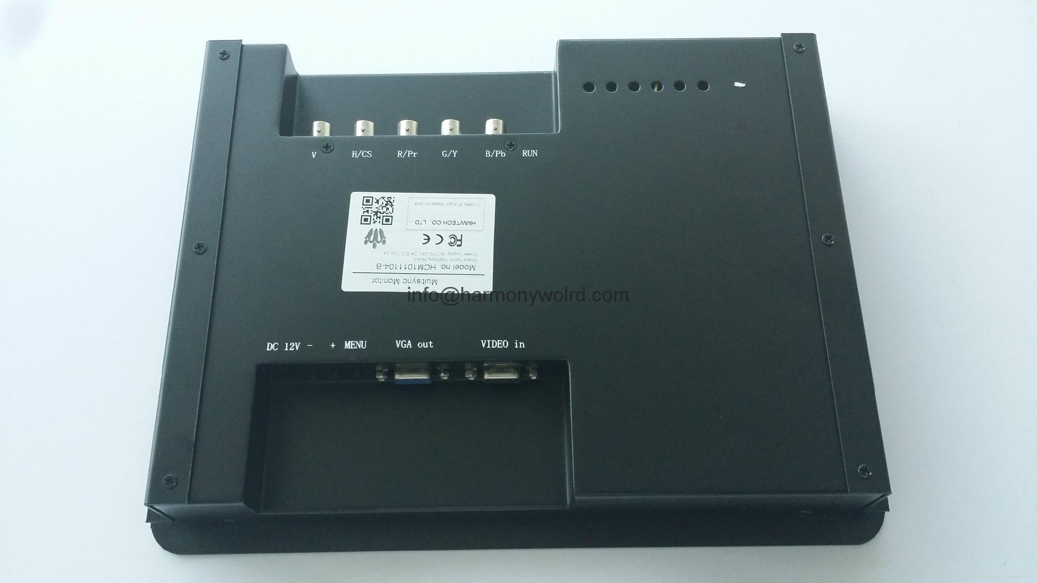"Upgrade HANTAREX MT 3000 5"" / 9"" /12"" OPEN FRAME MONO MONITOR to NEW LCD Monitor 7"