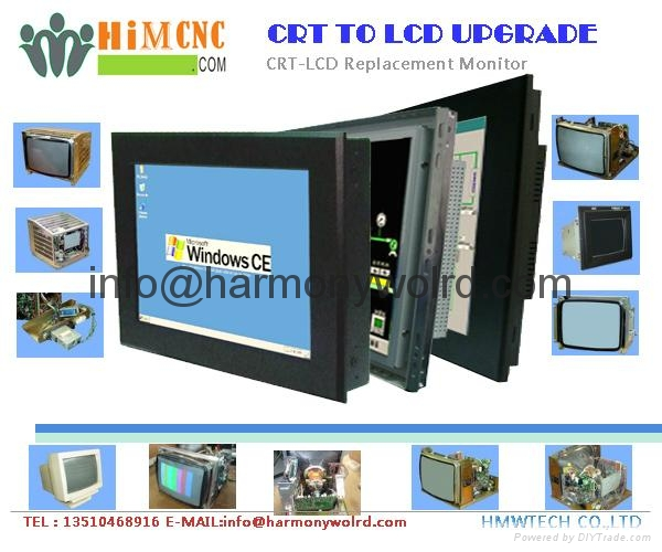 Upgrade FAGOR AUTOMATION 50 14C-COL MON50/55-14-COL INDUSTRIAL MONITOR To LCDs 1