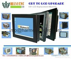 Upgrade Mitsubishi Monitor AM-2752 AM-3501R AM-4201R 4375M C-6512 CRT To LCDs