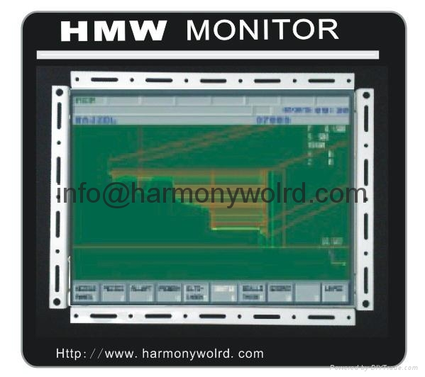 Upgrade Bridgeport Monitor MMSV-0910 VM-9AF-N MB0931 9 PC Monitor  CRT to LCDs 6