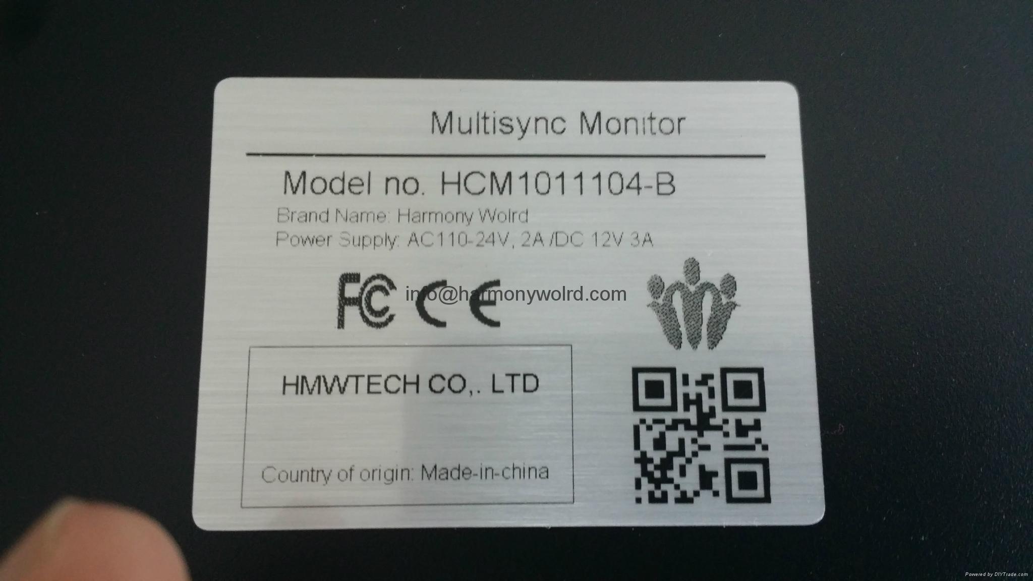 """Upgrade Bridgeport Monitor 11597900 Bridgeport EZ-Trak XC-1410C 14"""" CRT To LCDs  4"""