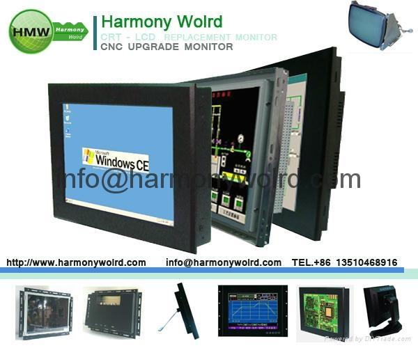 Upgrade LUCIUS & BAER CC15V-NET VM3819-1 ECM1411DMS CC14 CRT MONITOR to LCDs  9