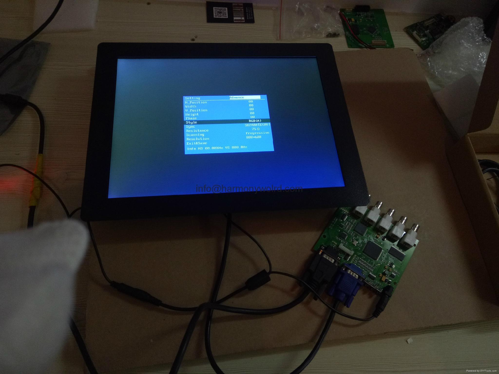 Upgrade Microvitec Monitor MV15LCDL-CHA MV15LCDL-RM 15VD4DLS2 15VD48DLS2 To LCDs 3