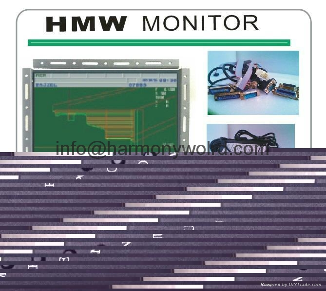 Upgrade Monitor MOTOROLA MD2800-390 MD2800-190 9 INCH CRT DISPLAY TTL INPUT 8