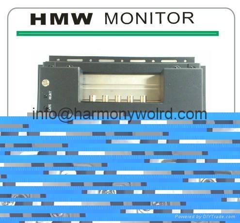 "Upgrade monitor Sampo 579417TA SM-0901 Siemens 9"" monochrome monitor. 3"