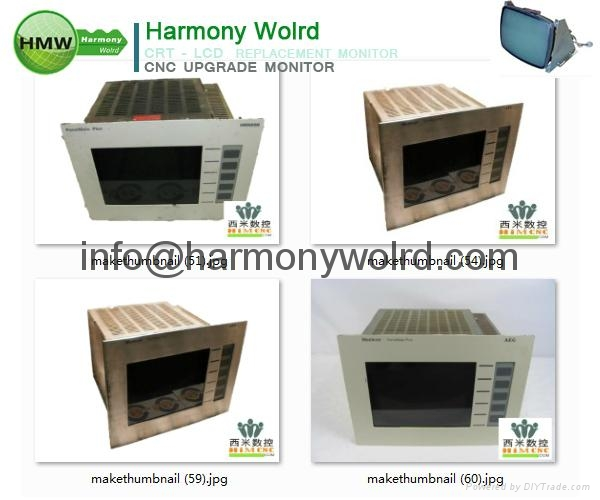 Upgrade MM-FMC3-010 Modicon Monitors MM-FMN3-000 MM-KPSD-000 MM-ONC2-000 to LCDs 10