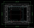 Upgrade PA-0547-100 PA-0547-200 PA-0602-000 PA-0612-000 Modicon Monitors to LCD