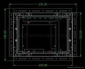 Upgrade MODICON PA0521000R M34KXG30X55 8074342 TR130 MONITOR CRT to LCD Monitor  6