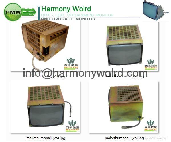 Upgrade MODICON PA0521000R M34KXG30X55 8074342 TR130 MONITOR CRT to LCD Monitor  15